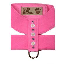Perfect Pink Daisy Dog Harness by Susan Lanci
