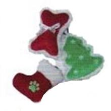 PetLou Christmas Babies Dog Toy