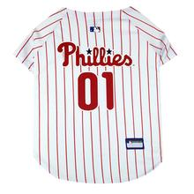Philadelphia Phillies Officially Licensed Dog Jersey - Pinstripe