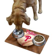 Philadelphia Phillies Pet Bowl Mat