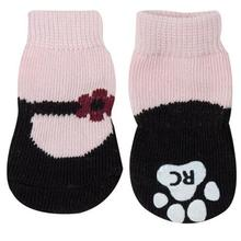 Pink Mary Janes PAWKS Dog Socks