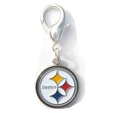 Pittsburgh Steelers Logo Dog Collar Charm