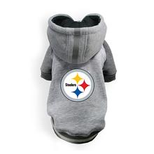 Pittsburgh Steelers NFL Dog Hoodie - Gray