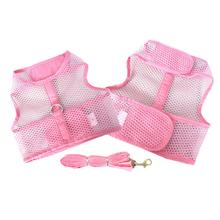 Plain Cool Mesh Dog Harness by Doggie Design - Pink
