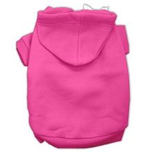 Plain Dog Hoodie - Bright Pink