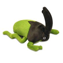 P.L.A.Y. Bugging Out Plush Dog Toy - Rhino Beetle