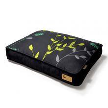 P.L.A.Y. Greenery Rectangular Dog Bed - Slate and Dark Gray