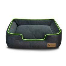 P.L.A.Y. Urban Plush Lounge Dog Bed - Lime