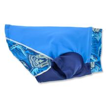 Playa Pup Dog Rash Guard - Tiki Cobalt
