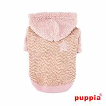 Polaris Dog Hoodie by Puppia - Pink
