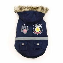 Police Dog Jacket by Dogo - Navy Blue