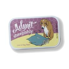 Poochie Bells Dog Breath Mints - Admit Sheepishly Tin
