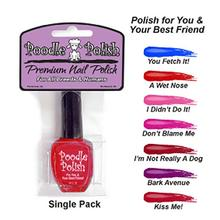 Poodle Polish Dog Nail Polish - Pink - I Didn't Do It!