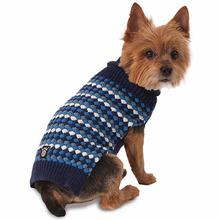 Popper's Dog Sweater - Blue