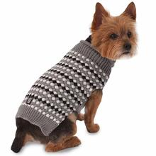 Popper's Dog Sweater - Gray