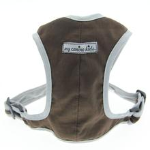 Precision-Fit Nylon Dog Harness - Chocolate