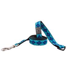 Preppy Dog Leash by RC Pet - Blue