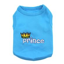 Prince Dog Tank by Parisian Pet - Blue