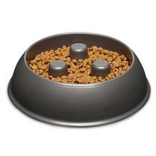 Proselect Aluminum Slow Feeder Pet Bowl