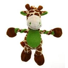 Pulleez Groovy Giraffe Dog Toy