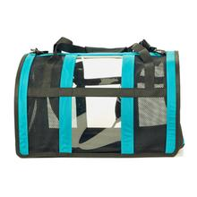 Push Pushi Puppy Shell Dog Carrier - Teal