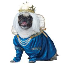 Queen of Bones Dog Costume