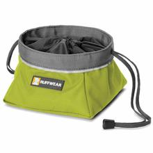 Quencher Cinch Top Dog Bowl by RuffWear - Forest Green