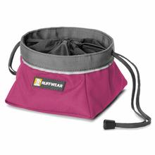 Quencher Cinch Top Dog Bowl by RuffWear - Purple Dusk