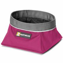Quencher Travel Dog Bowl by RuffWear - Purple Dusk