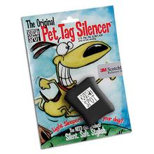 Quiet Spot Pet Tag Silencer - Black