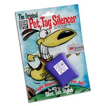 Quiet Spot Pet Tag Silencer - Blue