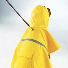 Rain Jacket with Reflective Strip - Yellow