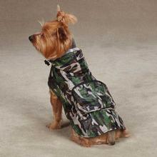 Rainy Day Dog Rain Jacket - Camo