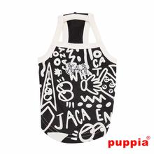 Rascal Dog Tank by Puppia - Black