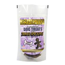 Real Meat Zombie Apocalypse Dog Treats - Beef, Oatmeal and Molasses