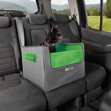 Rear Skybox Dog Booster Seat by Kurgo - Green and Gray