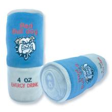 Red Bull Dog Plush Dog Toy