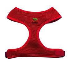 Red Cherry Chipper Dog Harness - Red