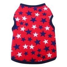 Red, White, and Blue Stars Dog Tank