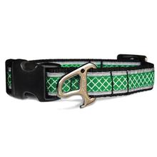 Reflect and Protect Wander Dog Collar by Kurgo - Grass Green