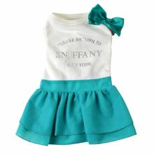 Return to Sniffany Dog Dress by Dogs of Glamour