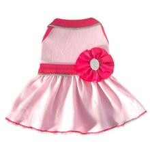 Ribbon Bead Flower GLO Dog Dress