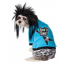 Rock Star Dog Costume