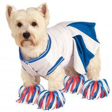 Rubie's Cheerleader Halloween Dog Costume - Blue