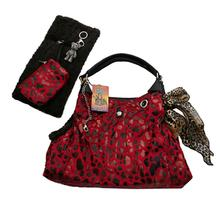 RunAround Dog Tote Carrier - Red
