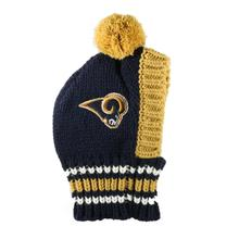 St. Louis Rams Knit Dog Hat