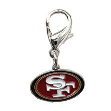 San Francisco 49'ers Logo Dog Collar Charm