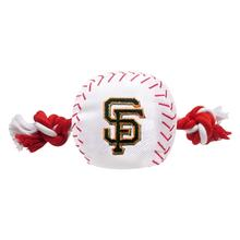 San Francisco Giants Nylon Plush Baseball Rope Toy