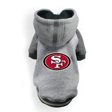 San Francisco 49ers NFL Dog Hoodie - Gray
