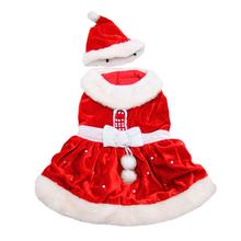 Santa Paws Dog Dress